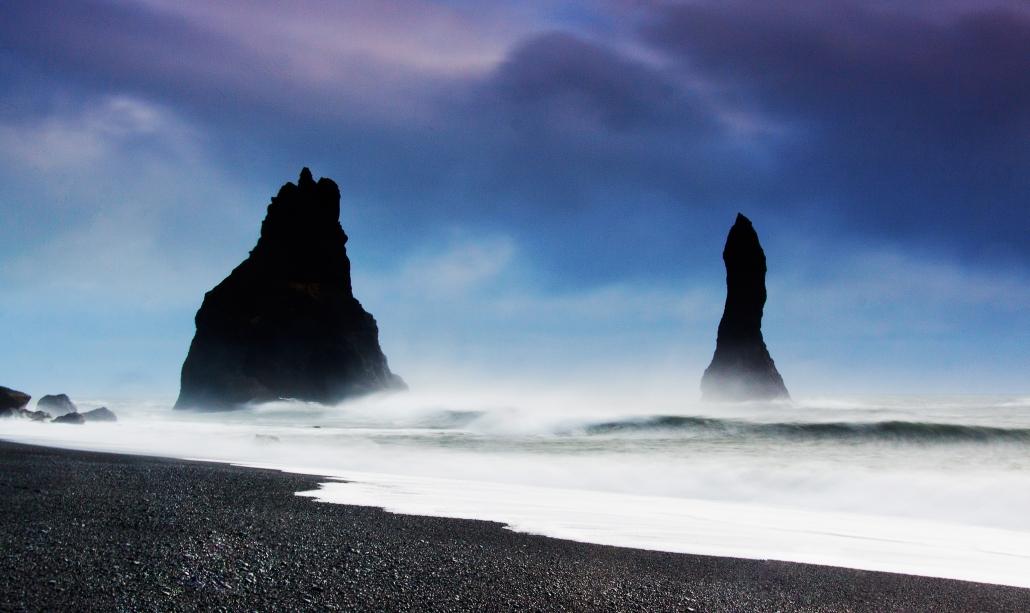 Vik Iceland - Black Beach Sea Stacks