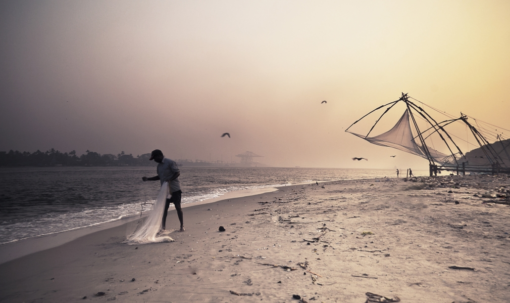 Chinese Fishing nets On Fort Kochi Beach - Behind The Shotresettled-berber-over-looks-el-moukhtar-valley-behind-the-shot